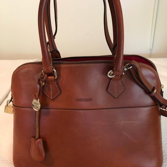 Bags   Dooney And Bourke Italian Leather Tote   Poshmark a4e886b0e5